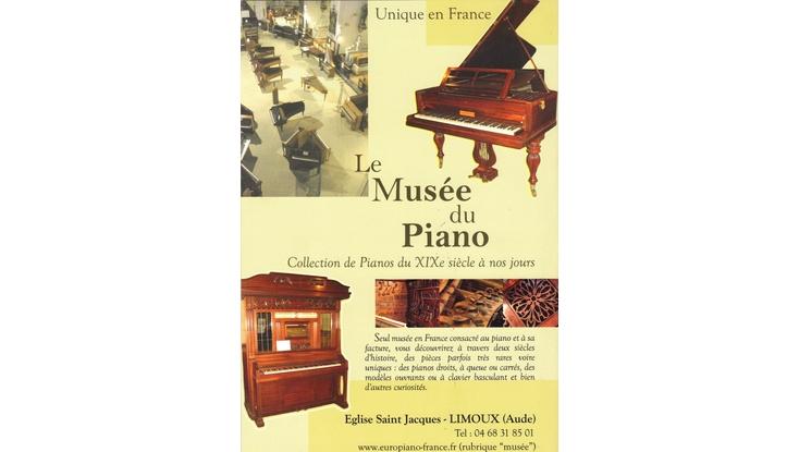 Musée du Piano de Limoux