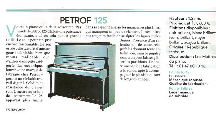 Petrof 125
