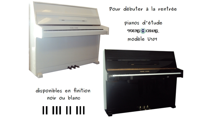 Pianos d'étude Young Chang d'occasion