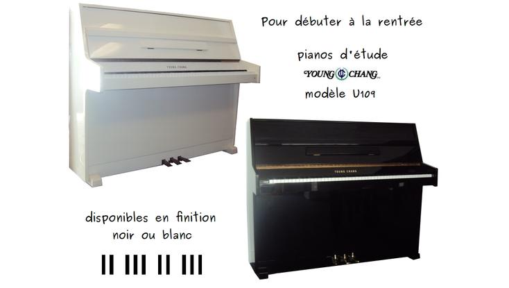 Pianos d'étude Young Chang d'occasion