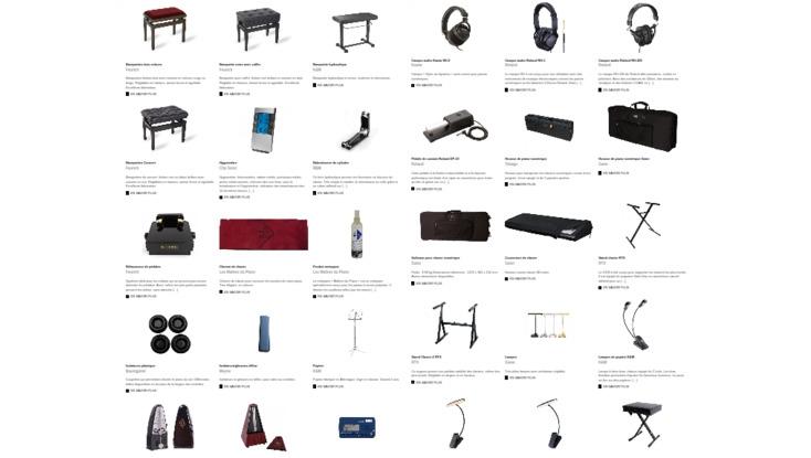Accessoires Piano